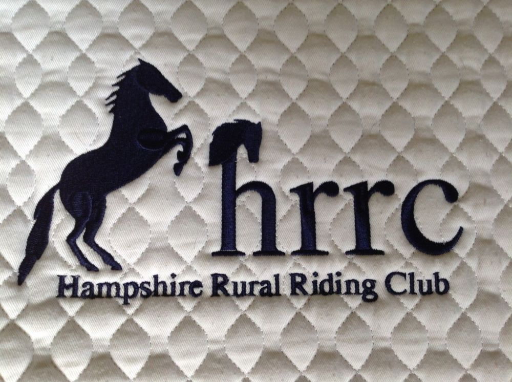 Hampshire Rural RC clothing embroidered Dressage Saddlecloths